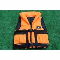 Спасательный жилет с подголовником «Фаворит» 60 кг