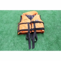 Спасательный жилет с подголовником универсальный 60-100 кг