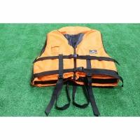 Спасательный жилет с подголовником универсальный 100-140 кг