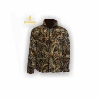 Куртка Browning, универсальная, 2 кармана, ткань флис, цвет лес, размер M