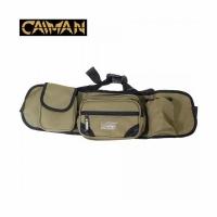 Пояс CAIMAN разгрузочный, 2 кармана на молнии, 1 на липучке, цв. хаки (50)*