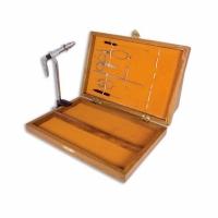 Набор для вязания нахлыстовых приманок LINEA EFFE в деревянной коробке, 7 предметов (5030010) Италия