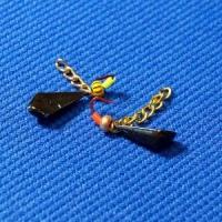Мормышка безнасадочная с цепочкой №1 (кр.Корея)
