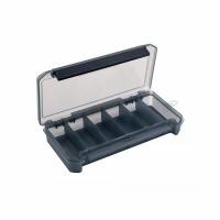 Коробка для приманок КДП-1 190*100*30мм (6 отд.) цв. в ассортименте