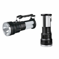 Фонарь YAJIA кемпинг., 1W+24SMD LED, 220V, 3 режима, +солн. батарея, пласт. корпус, ручка, (2881T)