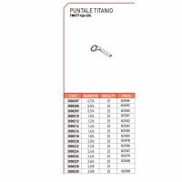 Тюльпан LINEA EFFE PUNTALE TITANIO TMKTT SIG титан D-2,2/6мм (3000222) (1шт.)