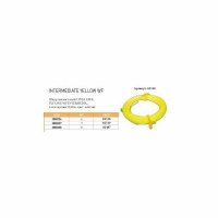 Шнур нахлыстовый LINEA EFFE Aspen WF6, тонущий, 30,48м, желтый (3080026)