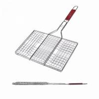 Решетка гриль FORSTER 23*33*55 см, объемная, дерев. ручка (16120-4) (4)