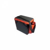 Ящик зимний HELIOS FishBox  В32*Ш38(50 с уч.нав.карм)*Г25, 19л,одн.секц.,2 карм.,ремень,оранжев (6)