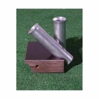 Универсальный крепежный блок под спиннинг с двумя алюминиевыми трубками