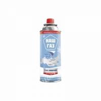 Баллон газовый НАШ ГАЗ, 220 гр., зимний NGW-220 (Россия) (12)