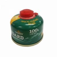 Баллон газовый STANDART, 100 гр., резьбовой TBR-100 (Южная Корея) (24)
