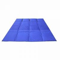 Пол для палатки СТЭК КУБ 3, ткань oxford 300, цвет синий, 2,25*2,25см.(5м3),прослойка изолон 10мм.