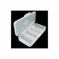 Коробка для мелочей КМ-1 односторонняя 130*60*25мм (3/4 отд.)