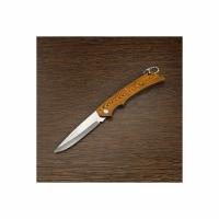 Нож складной, малый, рукоятка пластик- 9 см, длина 16 см, нерж.сталь (501)