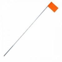 Флажок на жерлицу, цв. оранжевый