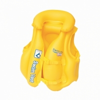 Жилет BESTWAY 20x18 Swim Safe Swim Vest-Step надувной с подголовником, 51х46см 3-6лет 32034eu