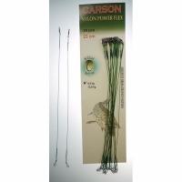 Поводок CARSON оснащенный, вольфрам, Duo Lock, 21см, 8кг