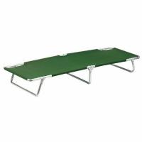 Кровать-раскладушка KUTBERT,190*55*26см, сталь, 600DPolyester,цв.зеленый (1245) (4)
