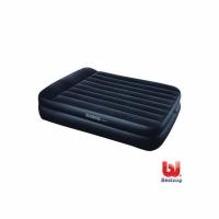 Кровать BESTWAY Премиум, c эл.насосом и подголовником, цвет темно синий 203*152*46см. (67345N) (2)