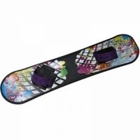 Сноуборд пластиковый с облегченными креплениями (носок)