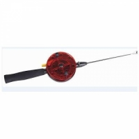 Удочка зимняя KUTBERT QL-103 ручка-неопрен, с курком, под балансир,поликарбонат,37 см.,d55мм.