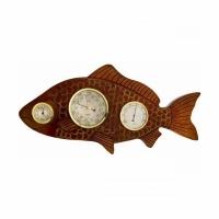 Метеостанция БРИГ+ М рб (рыба), 510*250*70мм, цвет барокко