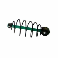 Кормушка KOSTAL спиралевая, скользящая, огруженная, 6,5*15 зеленая FB-DAI