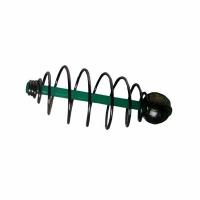 Кормушка KOSTAL спиралевая, скользящая, огруженная, 7,5*15 зеленая FB-DCI