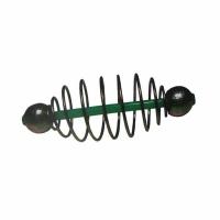 Кормушка KOSTAL спиралевая, скользящая, огруженная, 7,5*2*10 зеленая FC-DCL
