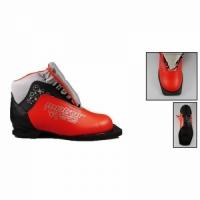 Ботинки лыжные MOTOR (TREK Soul) детск./подр. Классик / 75 мм/ иск. кожа / цв. в ассорт., размер 30