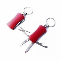 Нож-брелок (4 предмета) нож, откр., пилочка, ножницы (F-001)