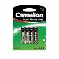 Элемент питания CAMELION R03P 1.5V (4 батарейки в блистере) (12) (AAA (мизинч.)) (1668)