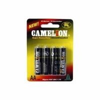 Элемент питания CAMELION L.R.6 -BP4 1.5V (4 батарейки в блистере) (12) (AA (пальч.)) (7370)