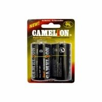 Элемент питания CAMELION R20P 1.5V (2 батарейки в блистере) (6) (D (боч.))
