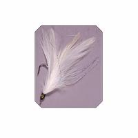 Приманка LINEA EFFE для нахлыста, кр. 2/0, цв.белый, 5шт. (5051200) Италия