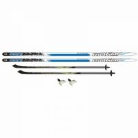 Комплекты лыжные TREK OMNI ЦСТ 185/145, 75мм
