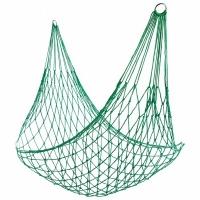 Гамак плетеный, Fia Fia, 240*170см (200*80), походный, суперкомпактный, нейлон, цвет хаки (WDC)