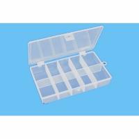 Коробочка для мелочей H330, односторонняя, 10 секций, (130*60 мм.)