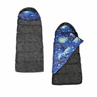Мешок спальный RIVERREST Умка, тк.Таффета, одеяло с подголовником, 3-х слойный, 220х75см (до +5С)