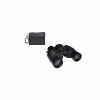 Бинокль ALPEN, 8*40, тип призмы Porro, со шнурком и салфеткой, в чехле, цвет черный (20)