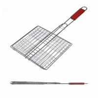 Решетка гриль FORSTER 23*20*50 см, объемная, дерев. ручка (16120-5) (4)