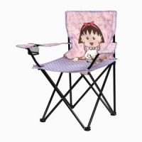 Кресло детское ANIME, В75*Ш45*Г45см,  складное, с подлокотниками, с подстаканник,в чехле(1003LOGO)