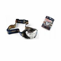 Фонарь налобный LINEA EFFE с линзой (металлик, 2 LED, блистер) (7599305) Италия