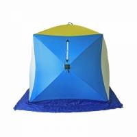 Палатка СТЭК КУБ 2 (трехслойная), размер 1,75*1,75 м., высота 1,75 м., вес 8 кг.