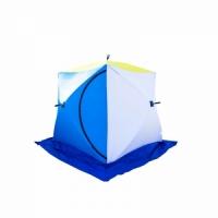 Палатка СТЭК КУБ 2, трехслойная LONG, размер 1,8*2,1м.,высота 1,75 м., вес 7,4 кг.